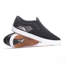 Lakai Owen VLK (Black Suede) Men's Skate Shoes