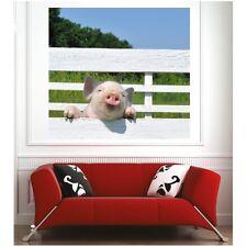 Affiche poster cochon 48393004 Art déco Stickers