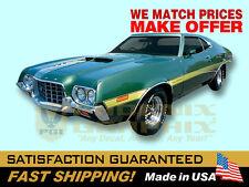 1972 Ford Gran Torino Decal & Stripe Kit