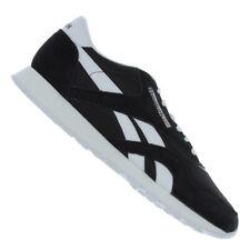 Reebok Classic Nylon Sneaker Schwarz Weiss