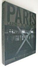 KRASS CLEMENT - PARIS CARNET DE RECHERCHE - 2010 1ST EDITION & PRINTING - FINE