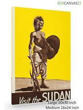 POSTER da viaggio in tela S3 Sudan 2