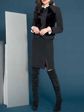 Edas giacca elegante donna Talana NERO 50-54 taglie forti comode cerimonia