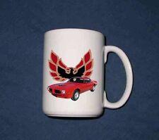 NEW 1973 Pontiac Firebird, Formula, and TA 15 Oz mug!! (7 different available)