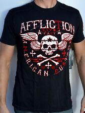 Affliction American Customs CREEPS - Men's Biker T-Shirt - NEW - A7102 - Black