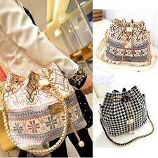 Fashion Classical Ladies Bucket Style Slouch Casual Shoulder Hobo Bag Handbag