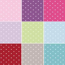 100% tissu de coton Lifestyle 10 mm Dotty Spots pois 140 cm large