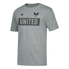 "D.C. United MLS Adidas Men's ""Bar None"" Team Grey Tri-Blend T-Shirt"