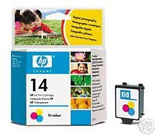 Genuine HP 14 C5010DE Color Cartucho actualizados Ver descripción envío rápido