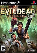 BRAND NEW FACTORY SEALED PS2  Evil Dead: Regeneration (Sony PlayStation 2, 2005)