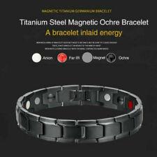 Therapeutic Energy Bracelet Magnetic Hematite Copper Healing Jewelry Bangles Men