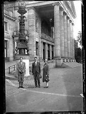 Ancien négatif photo verre plaque Wiesbaden Kurhaus Centre Thermal Allemagne