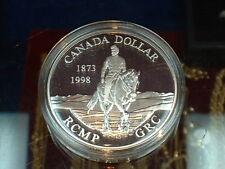 CANADA  1998  ****  PROOF CAMEO  SILVER DOLLAR   ****
