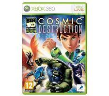 BEN 10 ULTIMATE ALIEN TEN COSMIC DESTRUCTION Xbox 360 MS XBOX360 UK Rel New Seal