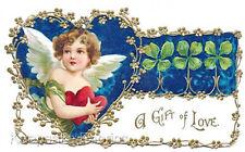 Gift of Love Cherub Valentine Quilt Block Multi Sizes FrEE ShiPPinG WoRld WiDE