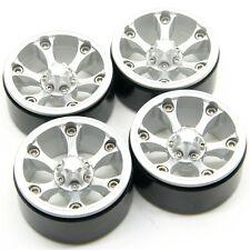 """4pcs 1.9"""" Aluminum Beadlock Felgen Rad Rims fr D90 SCX10 CC01 RC Rock crawler#43"""