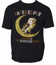 Bird Owl T Shirt Unisex Gatekeeper protecter Tee Men Adult America Tshirt  S-3XL