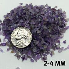 Crushed Amethyst Crushed Crystal MANY SIZES Amethyst Powder Small Amethyst