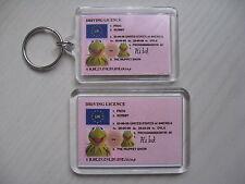 KERMIT MUPPET Keyring or Fridge Magnet = ideal gift idea !!!!!!!!!!!!!