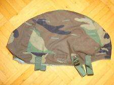 Original PASGT US Helmbezug Helmet Cover Woodland Camoflage für Fritzhelm Helm