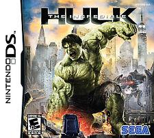 The Incredible Hulk Nintendo DS/3ds Kids Game Marvel Avengers