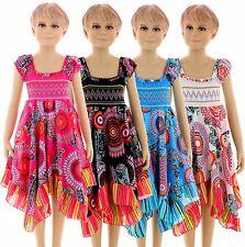 KK602 Kinder Mädchen sommer kleid Kinder festlich Kleid