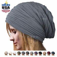 Winter Ski Women's Beret Baggy Beanie Oversize Slouchy Chic Hat Cap Skull
