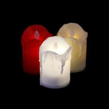 1Pcs Flickering Led Tea Light Battery Candles Flameless Xmas Wedding Party LU