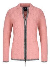 Almbock Strickjacke Trachten altrosa | Strickjacke Reißverschluss rosa