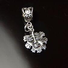 green man pagan pentacle lucky charm clip keyring pendant bracelet pagan wicca