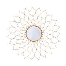 Spiegel Dekospiegel Sonnenspiegel Wandspiegel Modern Gold Schwarz Kupfer