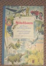 Münchhausen als Flieger auf Schneeschuhen... 1955 (359)