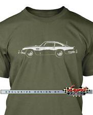 Aston Martin DB5 Coupe James Bond 007 T-Shirt for Men - Multiple Colors & Sizes