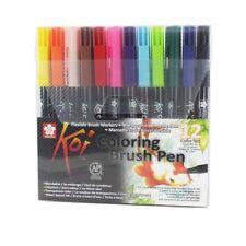 Sakura Koi Coloring Brush Pen Set, Set of 6, 12, 24, 48 Blendable Brush Pens