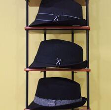 Marc Ecko Designer Series Twill Fedora Hats - Small/Medium or Large/X-Large