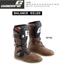Stivali TRIAL moto GAERNE BALANCE OILED brown marrone 2522013