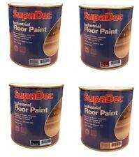SupaDec Industrial Floor Paint 1L Tile Red / Black / Light Grey / Slate Grey