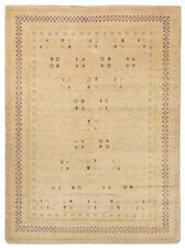 Morgenland Loribaft Gabbeh Fein CROCO Teppich Handgeknüpft Natur Orient Muster