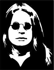 Ozzy Osborne vinyl decal sticker Billzard Diary Metal Black Sabath Paranoid