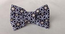 🎄Handmade Christmas Star Fabric Dog Bow Tie