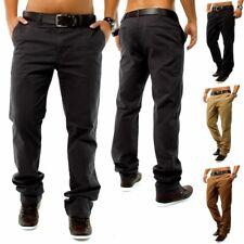 Stile DSN CHINO Jeans Regular Fit Chino Pantaloni W29 - W38 Marrone Beige