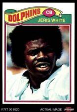1977 Topps #336 Jeris White Dolphins EX/MT