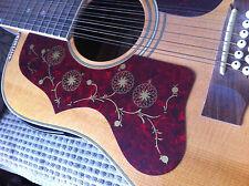 Guitarra Acústica j200 sj200 estilo Scratchplate Pickguard Mano Izquierda/Mano