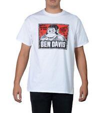 Original ben davis t-shirt logotipo vintage White (Workwear since 1935)