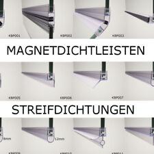 Glas Duschdichtung Dichtleiste Magnetdichtung Streifdichtung Dichtlippe Dusche