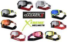 Just1 Iris Goggles MX Off Road Motocross Dirt Bike Camo Track Leopard Stripe