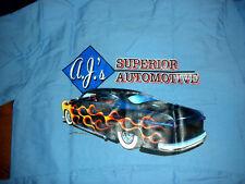 Rat Rod Hot Rod Zombie AJ's Shoebox Ford shop shirt.