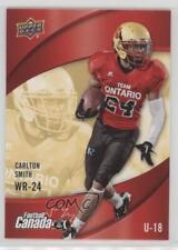 2013 Upper Deck USA Football Canada Rivals #C-7 Carlton Smith Rookie Card