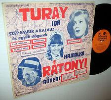 Ida TURAY Hajnalka & Robert RATONYI Hungarian LP UNIVERZALIS SSX 940
