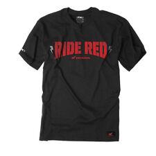 NEW FX FACTORY EFFEX HONDA RIDE RED BOLT S/S T SHIRT SHORT SLEEVE COTTON TEE